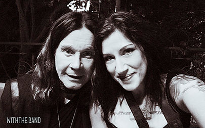 Meredith M. Carlson and Ozzy Osbourne