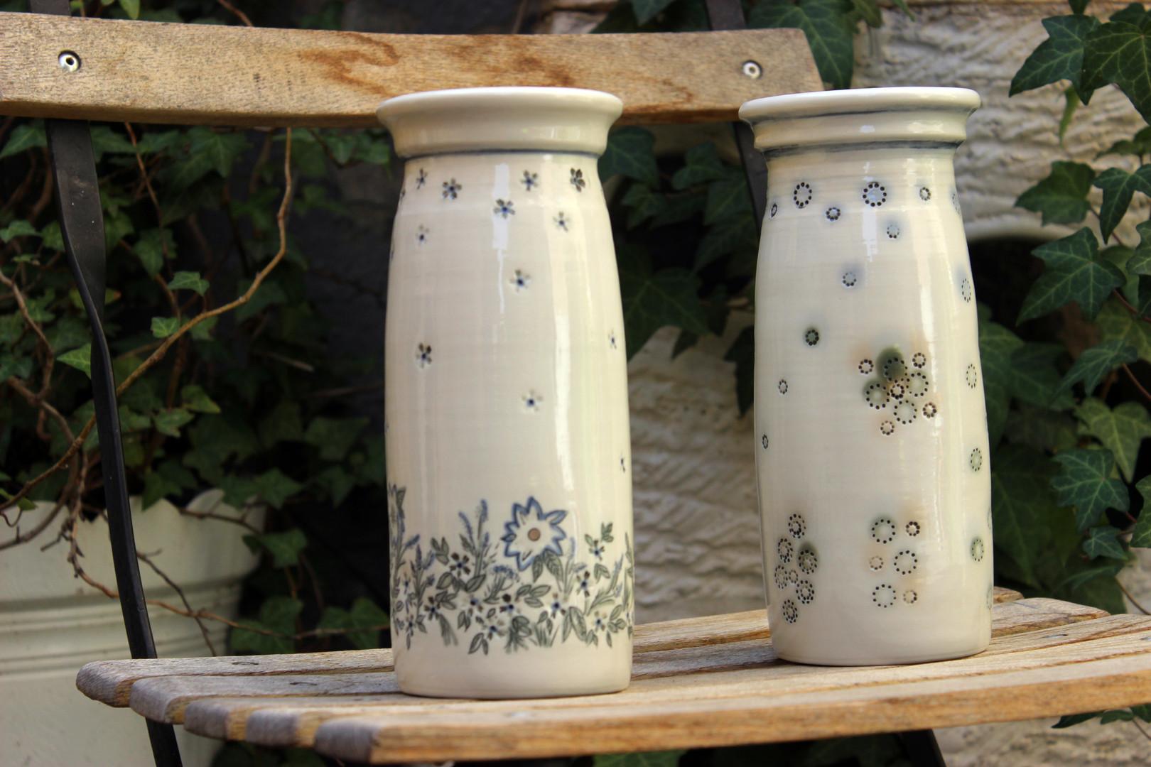 Z kurzu Dekorace vázy