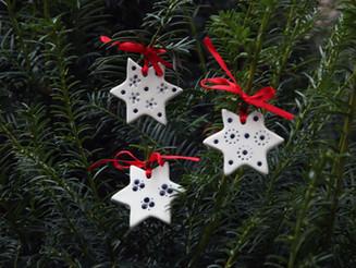Vánoční ozdoby a video