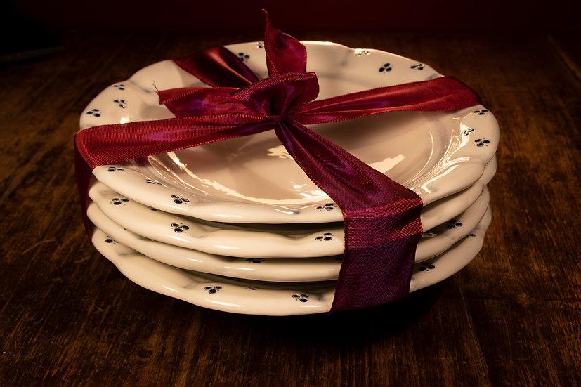 Babiččin talíř na polévku - set 4 talířů