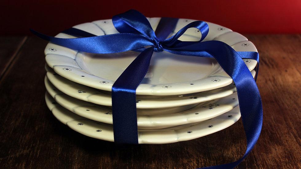Babiččin talíř - set 4 talířů