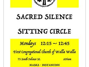 Sacred Silence Sitting Circle