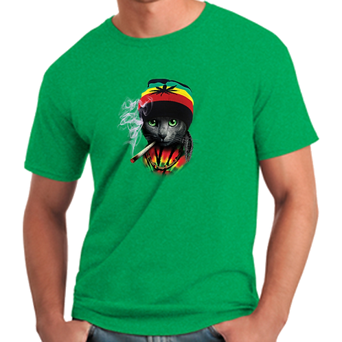 Rasta Cat T-Shirt