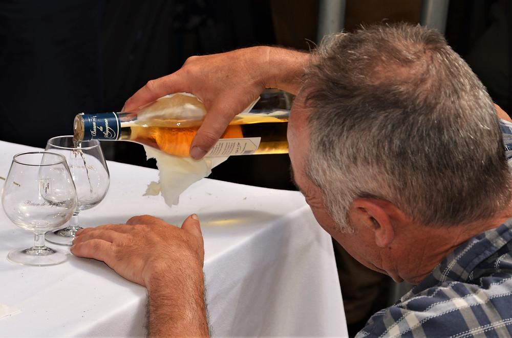 Le digestif : Armagnac Baron de Sigognac