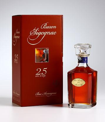 Baron de Sigognac 25 Year Old Carafe and Case
