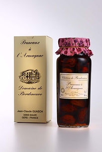 Agen prunes in Armagnac Bordeneuve