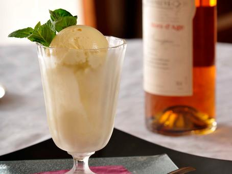 Crème glacée à l'Armagnac (Hors d'Age)