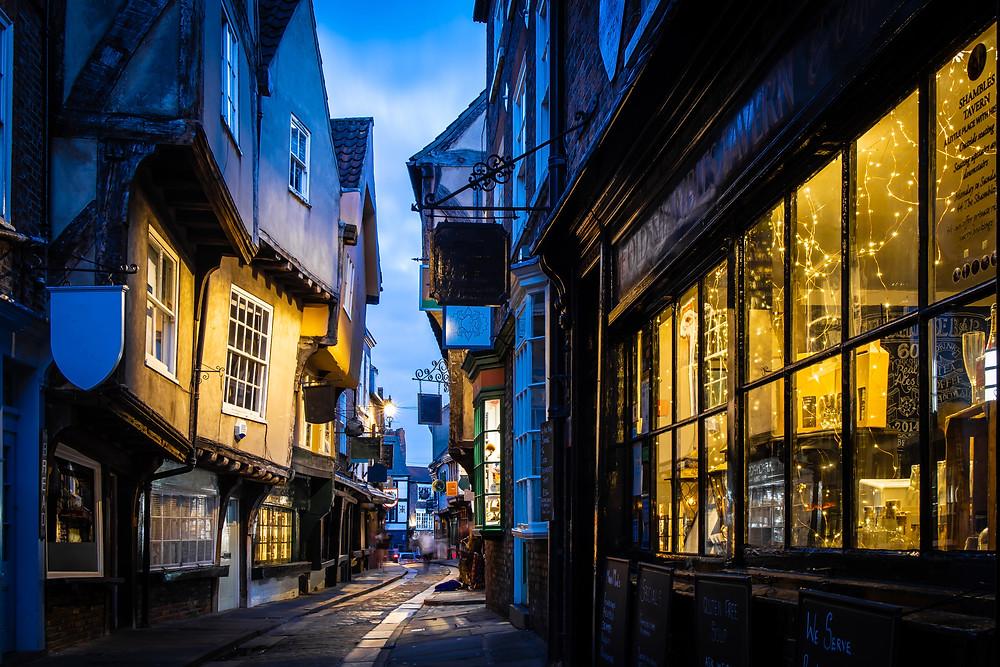 Shambles York UK Harry potter Yorkshire