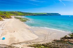 Roseland beaches, Cornwall