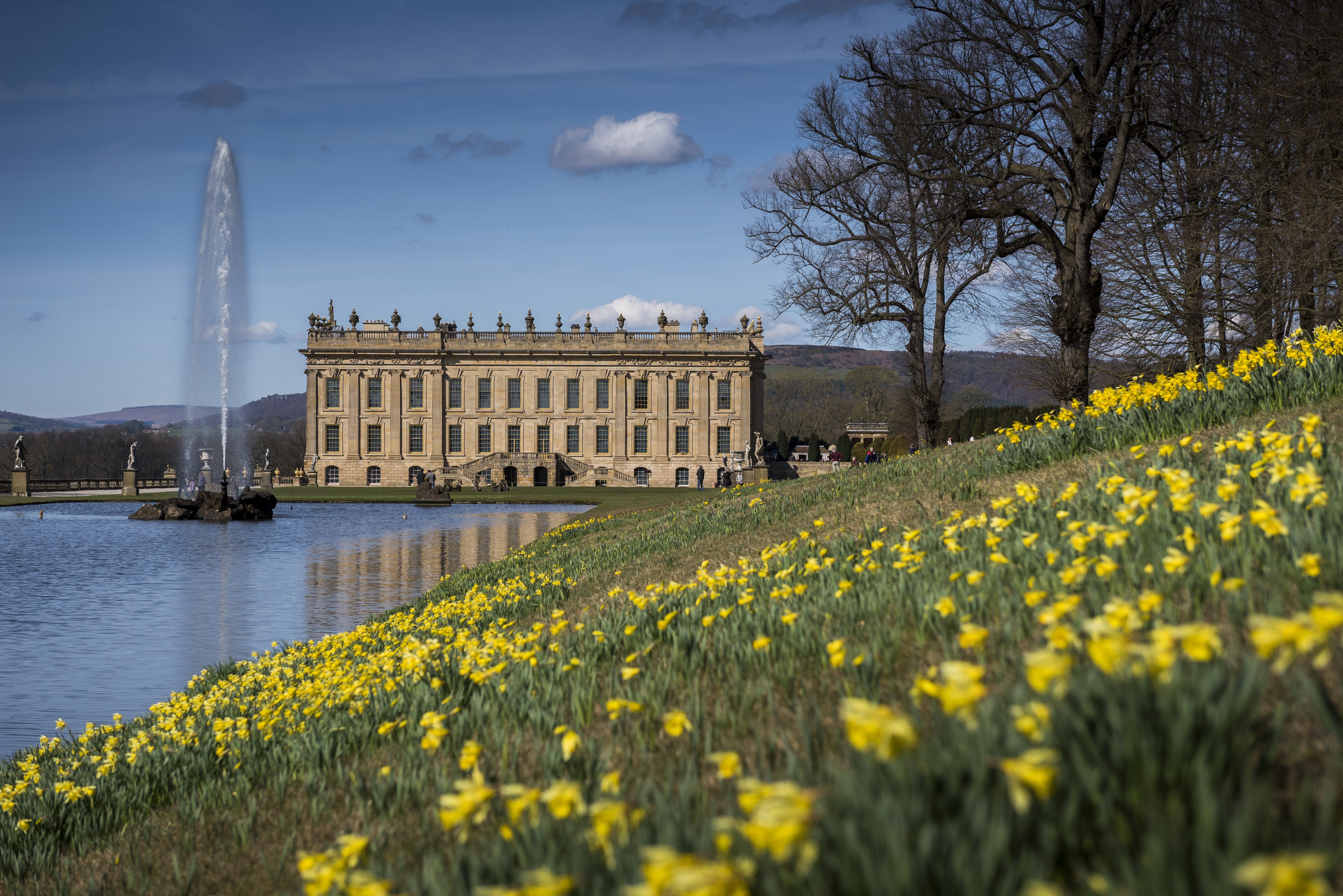 South Front, Chatsworth House Trust