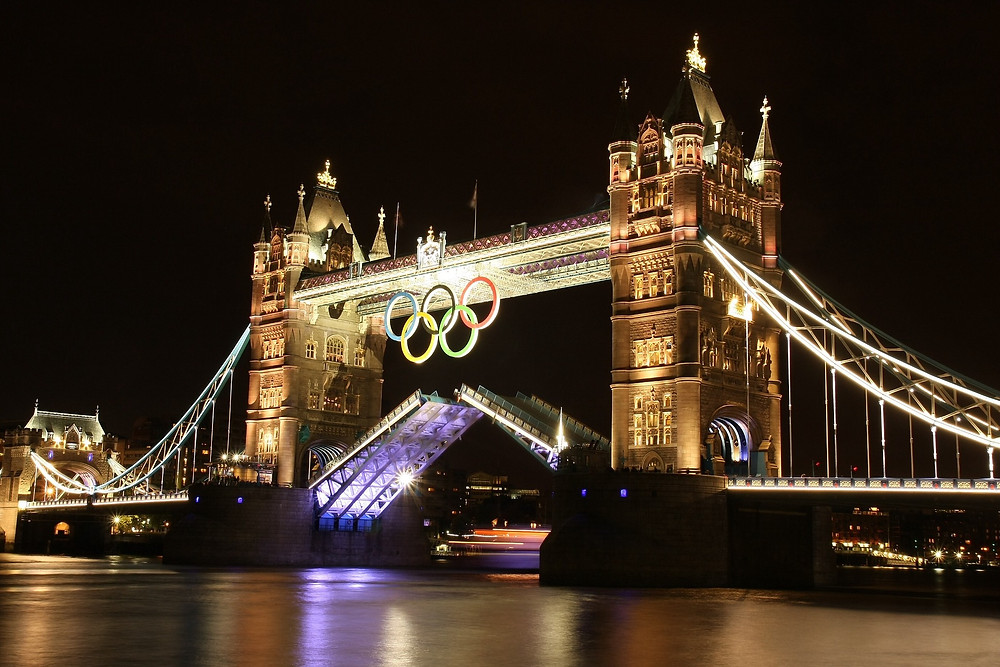 London during the Olympics