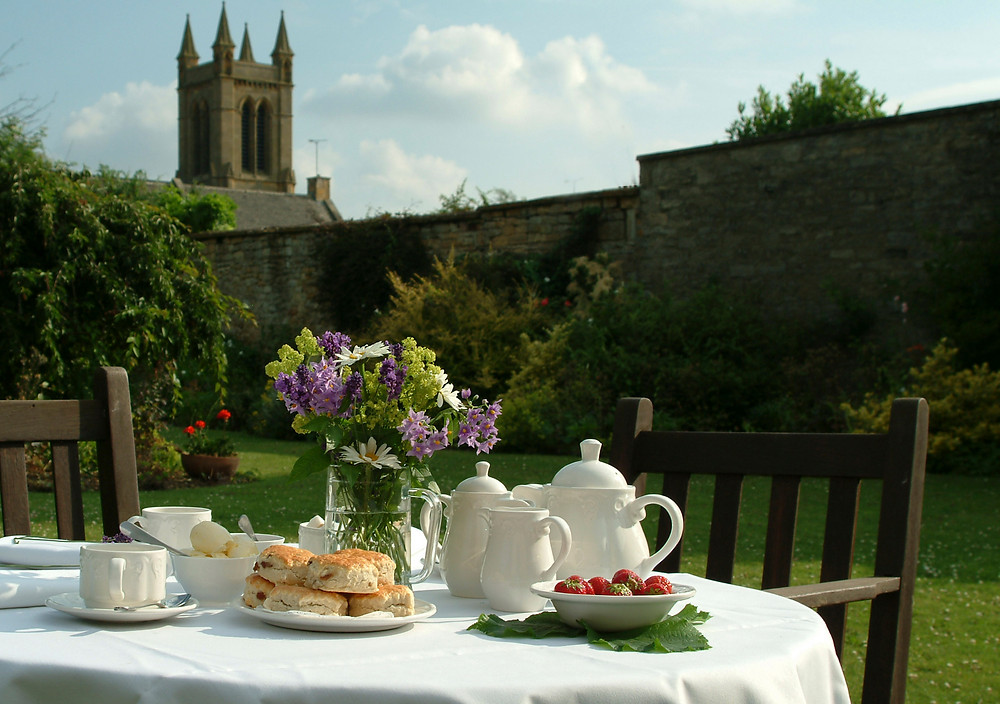 Afternoon Tea in a Cotswolds village