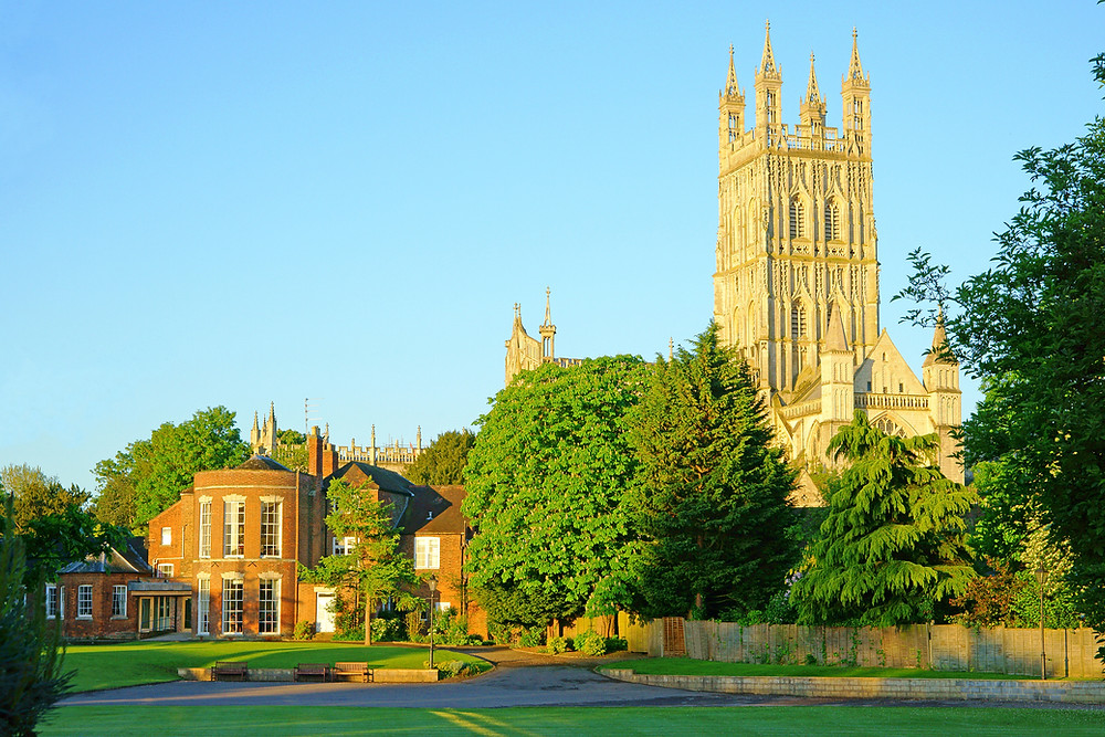 Gloucester Cathedral England UK Britain Cotswolds