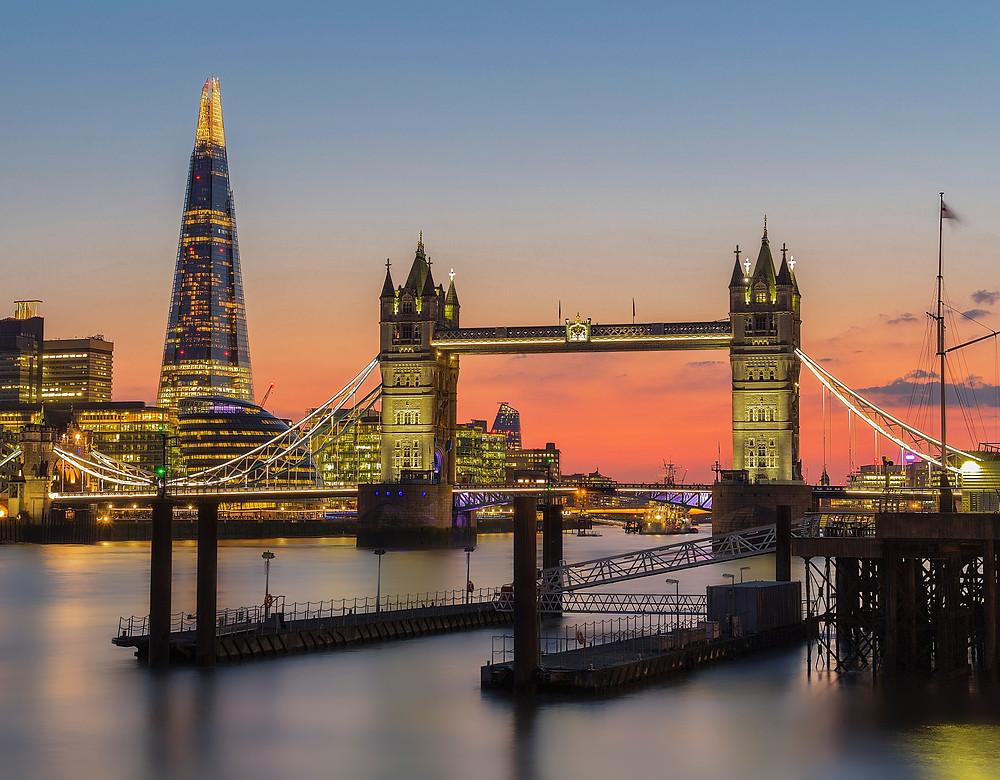 The Shard London, Tower Bridge