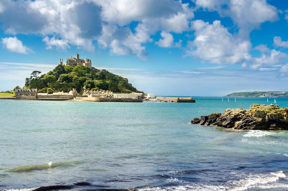St. Michael's Mount Cornwall England Island Coast