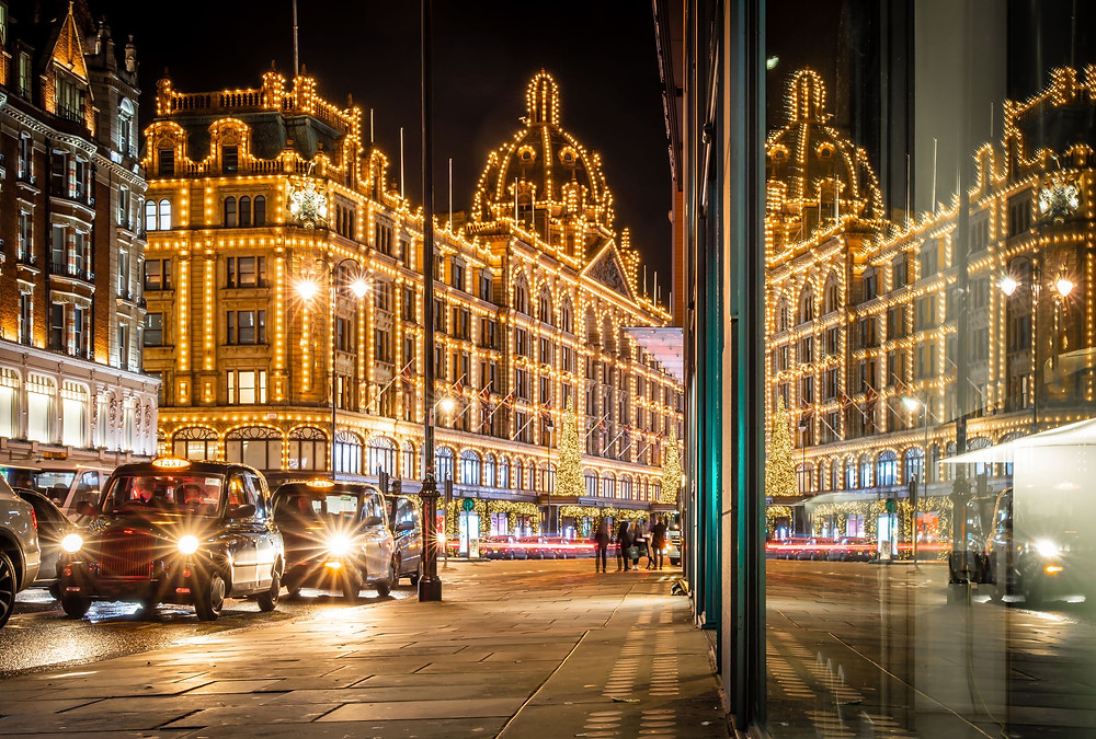 Harrod's London Britain UK shopping
