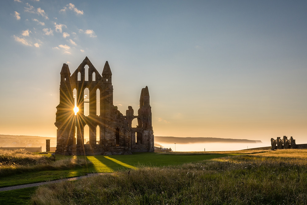 Whitby Abbey, Gothic, Britain Road Trip, Yorkshire