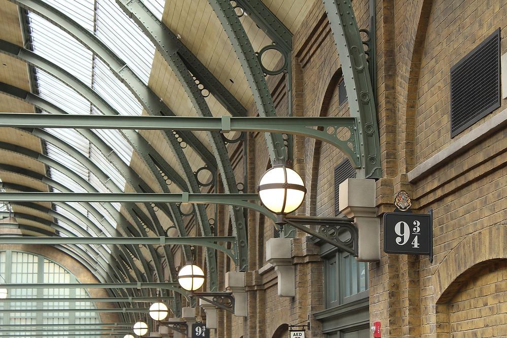 Platform 9 3/4 at Kings Cross Station London