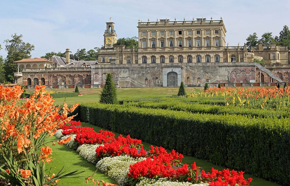 Cliveden House has beautiful gardens on their grounds