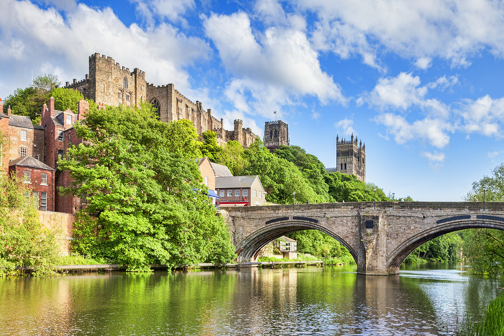 Durham Cathedral Durham Castle England UK