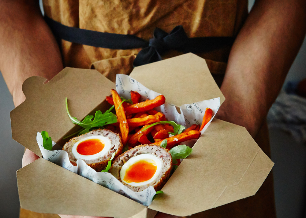 Scotch Eggs from Scotchtails