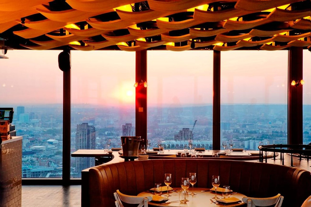 Duck and Waffle, The City, London