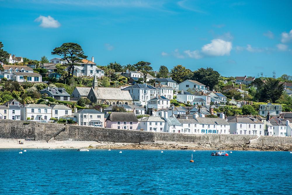 St. Mawes, Cornwall, Roseland Peninsula, Britain Road Trip