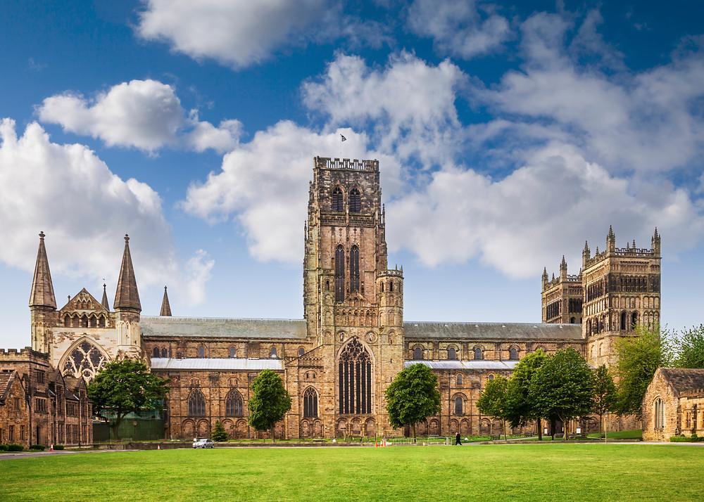 Durham Cathedral Durham palace green England UK