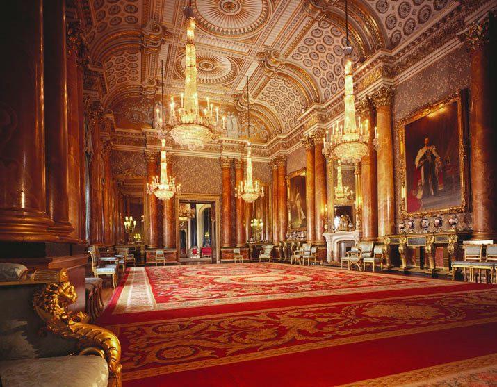 State Rooms Buckingham Palace London