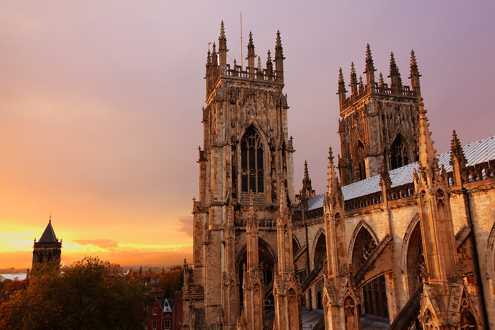 York Minster Yorkshire England UK