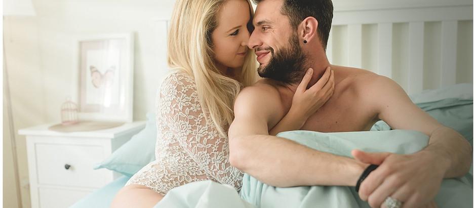 Boudoir-Lovestory - Eine andere Art von Paarshooting
