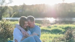 Amanda & Kurt - Romantisches Paarshooting an der Aare