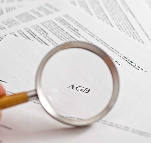 AGB im Focus conditions in magnifying glass concept.jpg