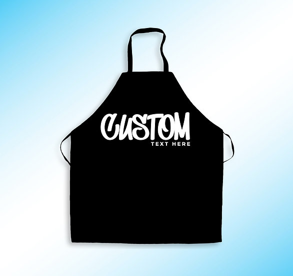 Graffiti Custom Apron