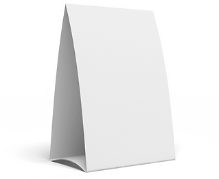 Table Tent Design