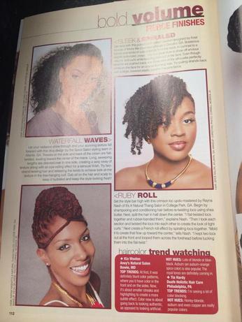 Black Hair Sophistocates' Mar/Apr 2014