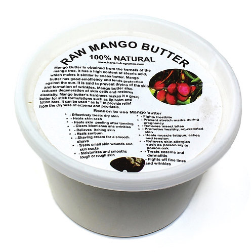 7oz Raw Mango Butter