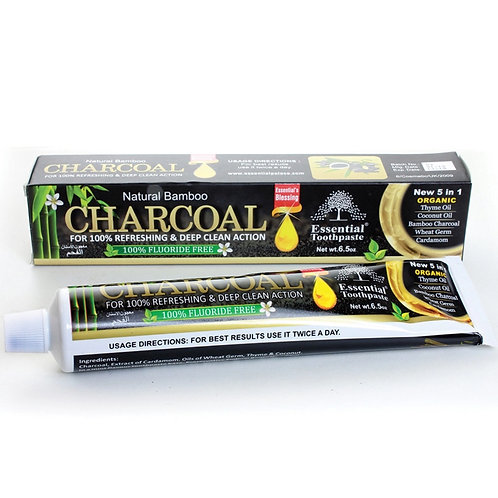 Natural Bamboo Charcoal Toothpaste