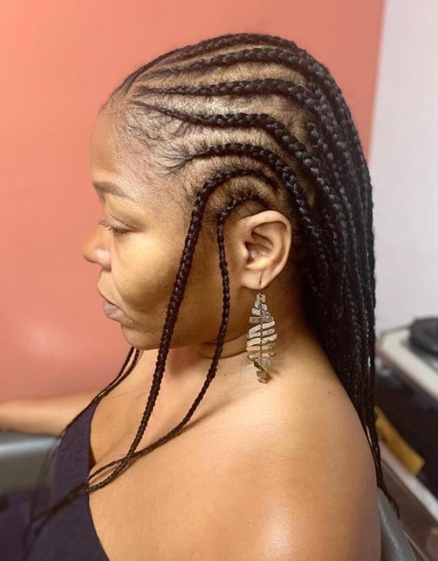 Two Layer Tribal Braids
