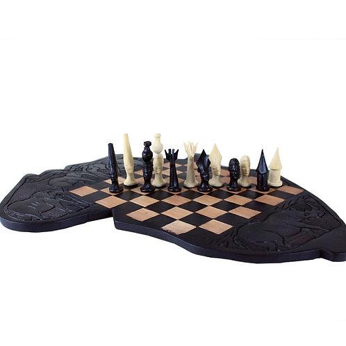 Makonde Chess Set