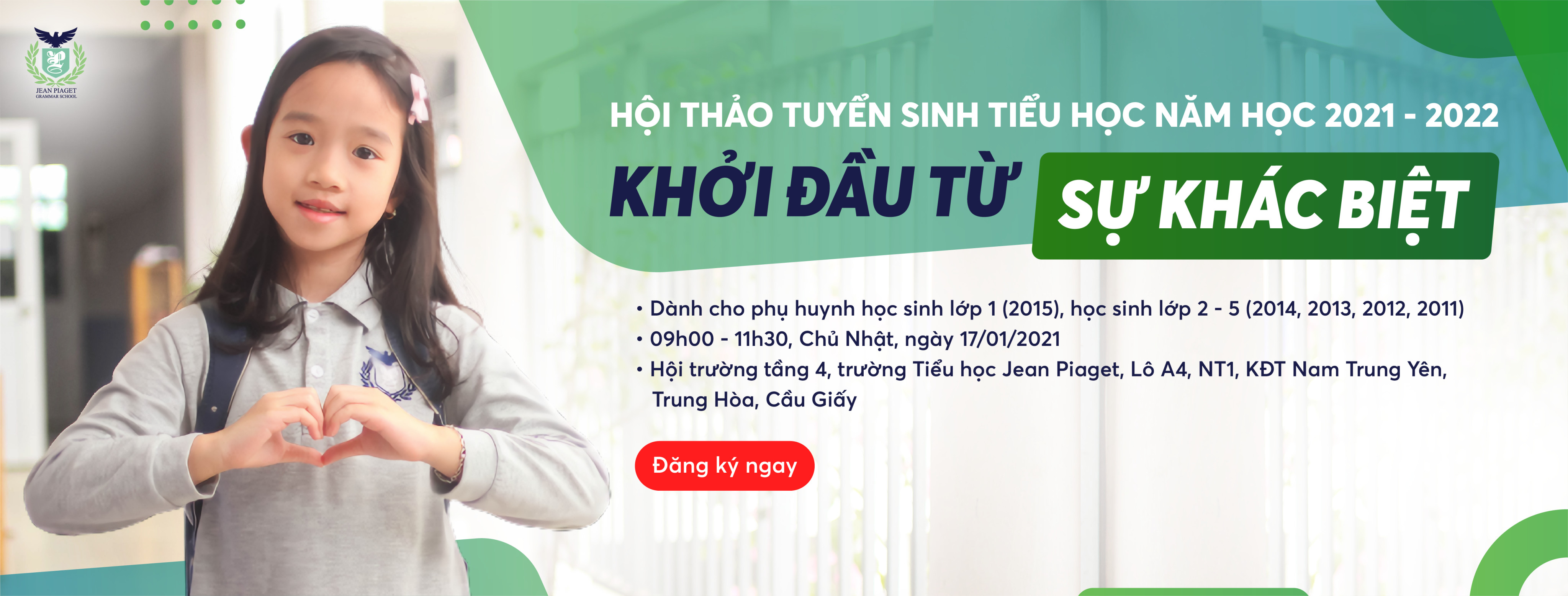 Cover hội thảo tuyển sinh
