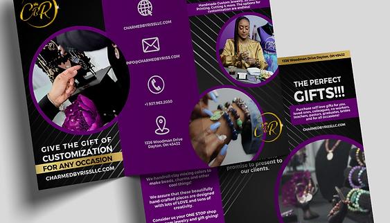 Tri-Fold Pamphlet/Brochure Design (3 Front + Back Samples)