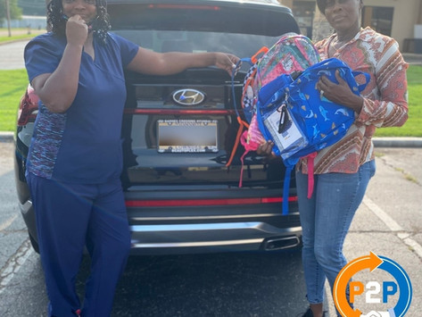 Empowering Future Generations! Returning Citizens Donate School Supplies to Mississippi Children