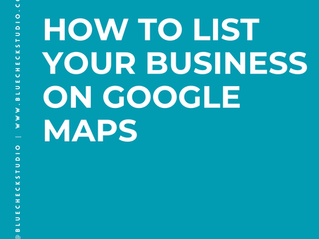 How To List Your Business On Google Maps.
