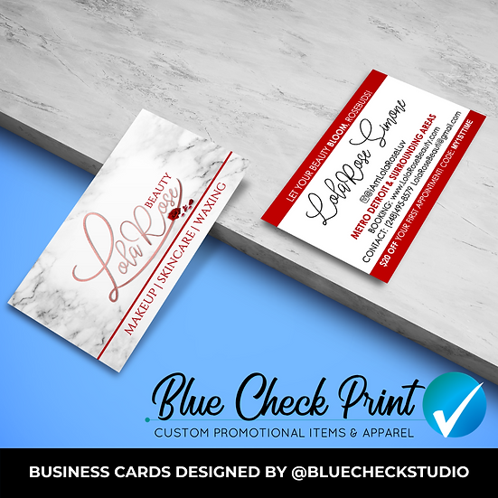 100 BUSINESS CARDS - Design & Print