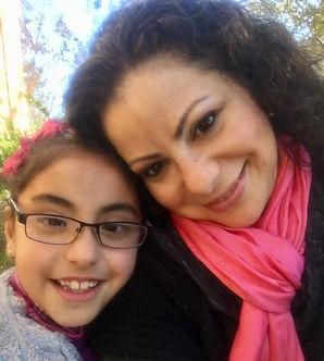 Sister Teresa and her daughter Celeste