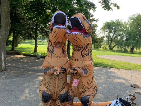 💥Our golfers are DINO-mite!💥