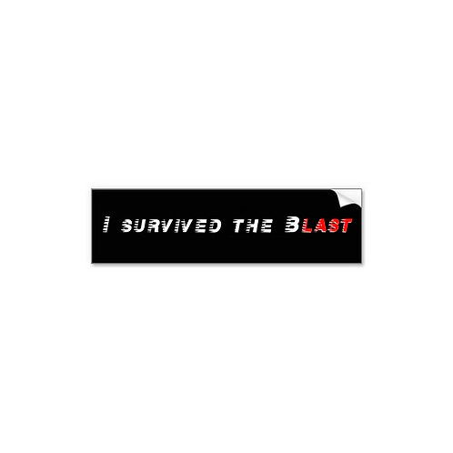 Body Blast Bumper Sticker