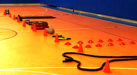 Body Blast Boot Camp Equipment
