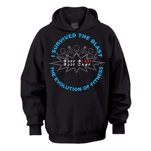 I Survived The Blast Hoodie